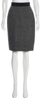 Dolce & Gabbana Cashmere Knee-Length Skirt