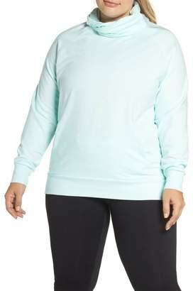 3f64a074d54 Zella Erica Twist Cowl Neck Pullover (Plus Size)