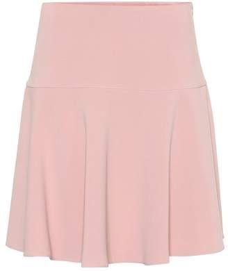 RED Valentino Cady crepe miniskirt