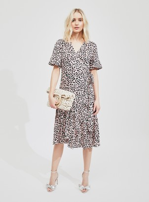Miss Selfridge Bonita Ruffle Wrap Dress