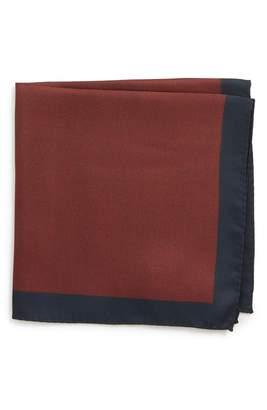 BOSS x Nordstrom Solid Silk Pocket Square