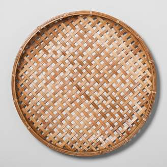 Hearth & Hand with Magnolia Flat Rattan Wall Art