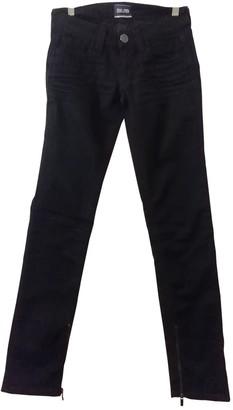 Jean Paul Gaultier Black Denim - Jeans Jeans for Women Vintage