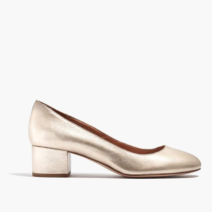 The Ella Pump in Metallic