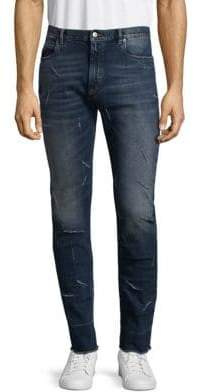 Maison Margiela Washed Distressed Jeans
