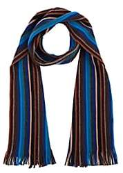 Barneys New York MEN'S STRIPED WOOL SCARF
