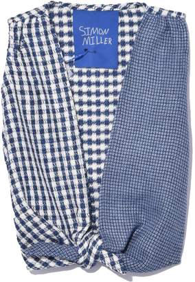 Simon Miller Ely Top in Country Plaid Patch