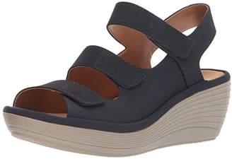 2512799d709e Clarks Blue Platform Wedge Women s Sandals - ShopStyle