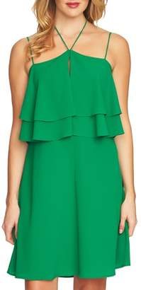 CeCe Ruffle Halter Dress
