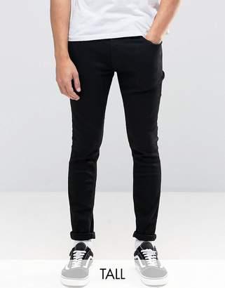 Jack and Jones Intelligence Skinny Jeans in Black