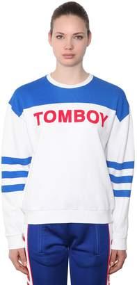 Filles a papa Tomboy Cotton Sweatshirt