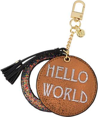 Neiman Marcus Pocket Mirror Tassel Keychain