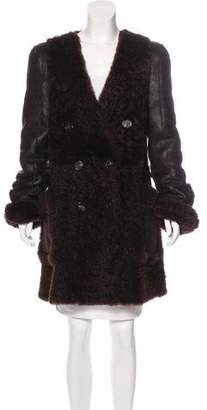 Chloé Reversible Shearling Coat