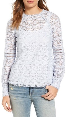 Women's Hinge Lace Top $69 thestylecure.com