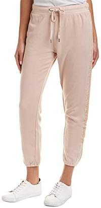 Splendid Women's Velvet Mixed Media Jogger