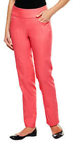 Denim & Co. Petite Perfect Denim Smooth WaistJeans