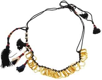 Dries Van Noten Gold Metal Necklace