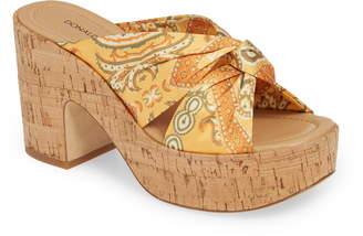 Donald J Pliner Beeya Platform Sandal