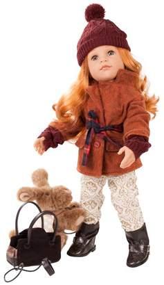 Gotz Hannah And Her Dog Doll (50cm)