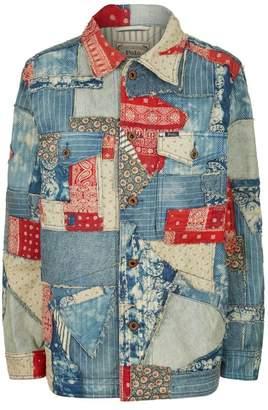 Polo Ralph Lauren Libby Patchwork Denim Jacket