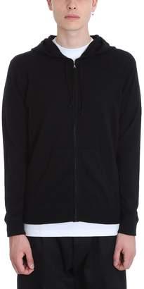 Laneus Black Cashmere Sweatshirt