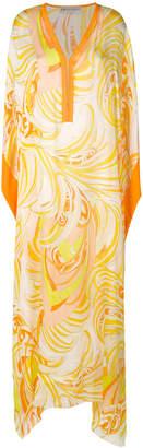 Emilio Pucci printed maxi kaftan dress