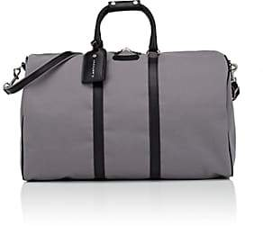 Anthony Logistics For Men T. Men's Classic Canvas & Leather Duffel Bag - Gray