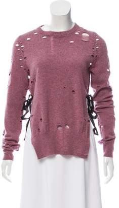 Maison Margiela Cashmere Distressed Sweater
