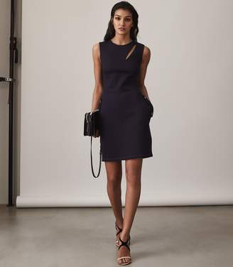 Reiss Tiana Crew-Neck Bodycon Dress