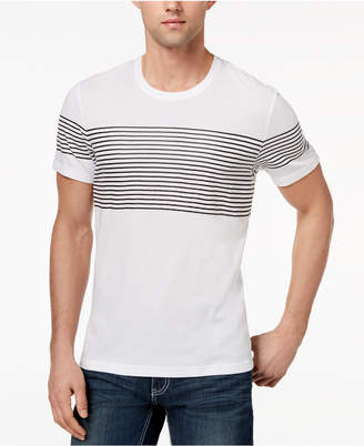INC International Concepts I.n.c. Men's Introspection Striped T-Shirt, Created for Macy's