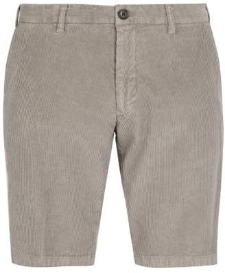 J.w.brine J.W. Brine J.w. Brine - Free Donnie Stretch Corduroy Shorts - Mens - Grey