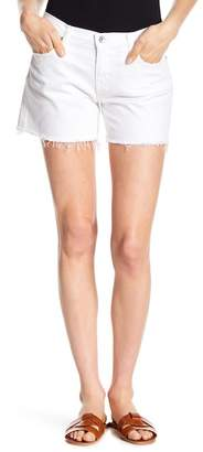 Big Star Alex Geo Print Midrise Frayed Shorts