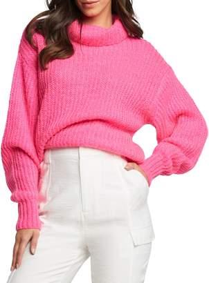 Bardot Cosy Neon Knit Sweater