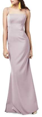 Watters Mellie Bow Back Gown