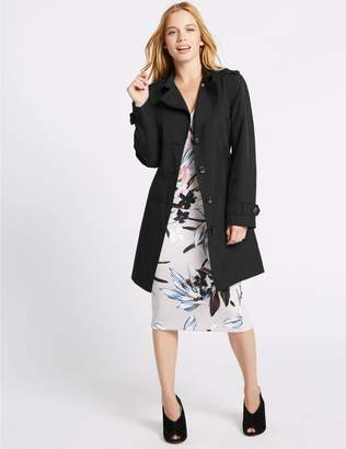 Marks and Spencer PETITE Trench Coat with Stormwear