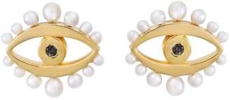 Ileana Makri EYE M by Mermaids Eye Stud Earrings