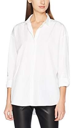 J. Lindeberg Women's Nicco Comfy Poplin Shirt,(Manufacturer Size:42)