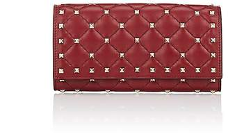Valentino Women's Rockstud Leather Continental Wallet
