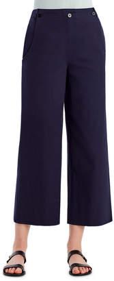 Jason Wu Grey Stretch-Twill Wide-Leg Sailor Pants