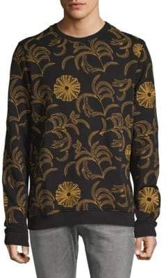 Scotch & Soda Embroidered Crewneck Sweater