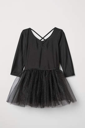 H&M Dance Leotard with Tulle Skirt - Black