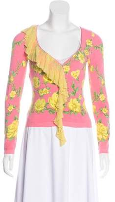 Blumarine Fitted Lightweight Cardigan