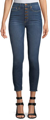 Alice + Olivia AO.LA by Alice+Olivia Good High-Rise Skinny-Leg Jeans