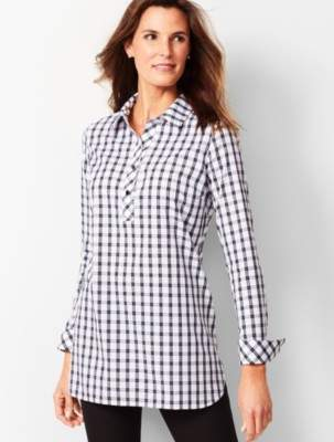 Talbots Longer Length Perfect Tunic - Scotch Plaid