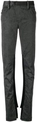 Lost & Found Rooms elasticated patch trousers