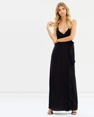 Atmos & Here ICONIC EXCLUSIVE - Patty Wrap Maxi Dress