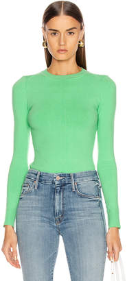 JoosTricot Long Sleeve Crew Neck Sweater in Tree Frog | FWRD
