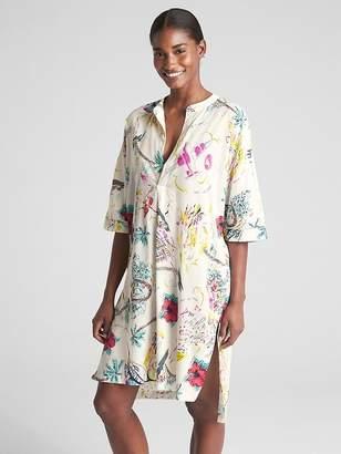 Gap Dreamwell Print Shirtdress