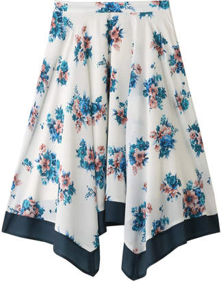 31 Sons De Mode (トランテアン ソン ドゥ モード) - トランテアン ソン ドゥ モード スカーフ柄スカート