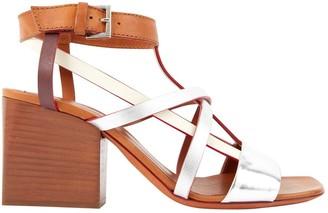 Missoni Multicolour Leather Sandals